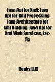 Portada de JAVA API FOR XML: JAVA API FOR XML PROCE