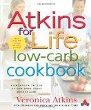 Portada de ATKINS FOR LIFE LOW-CARB COOKBOOK