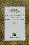 Portada de IDEARIUM ESPAÑOL; EL PORVENIR DE ESPAÑA