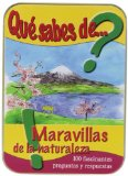 Portada de CAJITAS SABIAS. QUÉ SABES DE MARAVILLAS DE LA NATURALEZA