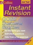 Portada de INSTANT REVISION - GCSE BUSINESS STUDIES