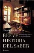 Portada de BREVE HISTORIA DEL SABER