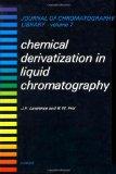 Portada de CHEMICAL DERIVATIZATION IN LIQUID CHROMATOGRAPHY: 7 (JOURNAL OF CHROMATOGRAPHY LIBRARY)