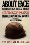 Portada de ABOUT FACE: THE ODYSSEY OF AN AMERICAN WARRIOR BY COLONEL DAVID H. HACKWORTH, JULIE SHERMAN (1990) PAPERBACK