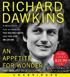 Portada de AN APPETITE FOR WONDER: THE MAKING OF A SCIENTIST BY RICHARD DAWKINS (2014-08-26)
