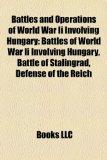 Portada de BATTLES AND OPERATIONS OF WORLD WAR II I