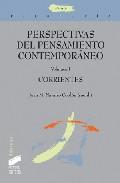 Portada de PERSPECTIVAS DEL PENSAMIENTO CONTEMPORANEO : CORRIENTES
