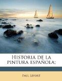 Portada de HISTORIA DE LA PINTURA ESPAÑOLA;