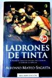 Portada de LADRONES DE TINTA