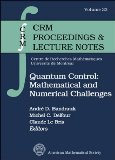 Portada de QUANTUM CONTROL: MATHEMATICAL AND NUMERICAL CHALLENGES (CRM PROCEEDINGS & LECTURE NOTES)