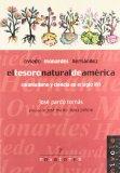 Portada de EL TESORO NATURAL DE AMERICA. COLONIALISMO Y CIENCIA EN EL SIGLO XVI: OVIEDO, MONARDES, HERNANDEZ