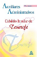Portada de AUXILIARES ADMINISTRATIVOS DEL CABILDO INSULAR DE TENERIFE: TEMARIO