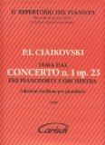 Portada de TCHAIKOVSKY - TEMA DEL CONCIERTO Nº 1 EN SIB MENOR OP.23 (TEMA) PARA PIANO FACIL