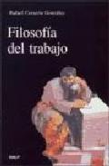 Portada de FILOSOFIA DEL TRABAJO
