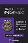 Portada de FORMULAS MAGICAS EFECTOS MAGICOS