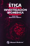 Portada de ETICA EN LA INVESTIGACION BIOMEDICA