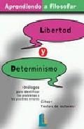 Portada de LIBERTAD Y DETERMINISMO
