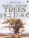 Portada de DRAWING AND PAINTING TREES (DOVER ART INSTRUCTION) BY ADRIAN HILL (2008) PAPERBACK