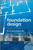 Portada de FOUNDATION DESIGN: THEORY AND PRACTICE