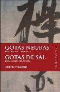 Portada de GOTAS NEGRAS. GOTAS DE SAL