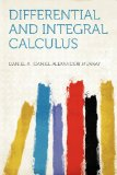 Portada de DIFFERENTIAL AND INTEGRAL CALCULUS
