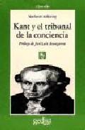 Portada de KANT Y EL TRIBUNAL DE LA CONCIENCIA