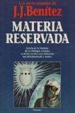Portada de MATERIA RESERVADA
