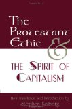 Portada de THE PROTESTANT ETHIC AND THE SPIRIT OF CAPITALISM