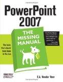 Portada de POWERPOINT 2007: THE MISSING MANUAL