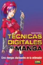 Portada de TECNICAS DIGITALES DEL MANGA