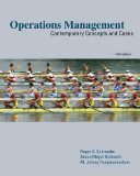 Portada de OPERATIONS MANAGEMENT: CONTEMPORARY CONCEPTS AND CASES (MCGRAW-HILL/IRWIN SERIES OPERATIONS AND DECISION SCIENCES) 5TH (FIFTH) EDITION BY SCHROEDER, ROGER, GOLDSTEIN, SUSAN, RUNGTUSANATHAM, M. JOHNN PUBLISHED BY MCGRAW-HILL/IRWIN (2010)
