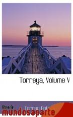 Portada de TORREYA, VOLUME V