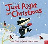Portada de JUST RIGHT FOR CHRISTMAS BY BIRDIE BLACK (2012-09-11)