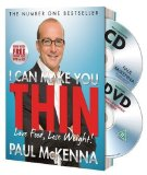 Portada de I CAN MAKE YOU THIN - LOVE FOOD. LOSE WEIGHT: NEW FULL COLOUR EDITION (INCLUDES FREE DVD AND CD) BY MCKENNA. PAUL ( 2010 ) PAPERBACK