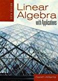 Portada de LINEAR ALGEBRA WITH APPLICATIONS 6TH EDITION BY WILLIAMS, GARETH (2007) HARDCOVER