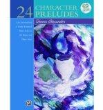 Portada de 24 CHARACTER PRELUDES: BOOK & CD (PAPERBACK) - COMMON