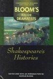 Portada de SHAKESPEARE'S HISTORIES (BLOOM'S MAJOR DRAMATISTS)
