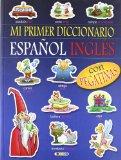 Portada de MI PRIMER DICCIONARIO ESPAÑOL INGLES CON PEGATINAS 1