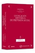 Portada de LEGISLACION HISTORICA DE PREVISION