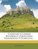 Portada de CRÍMENES CÉLEBRES ESPAÑOLES: COLECCION G