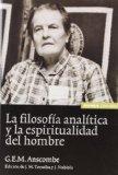 Portada de LA FILOSOFIA ANALITICA Y LA ESPIRITUALIDAD DEL HOMBRE