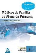 Portada de MEDICOS DE FAMILIA DE ATENCION PRIMARIA DEL INSTITUTO CATALAN DE LA SALUD. VOLUMEN 2