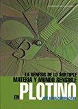 Portada de LA GENESIS DE LO MULTIPLE: MATERIA Y MUNDO SENSIBLE EN PLOTINO