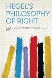 Portada de HEGEL'S PHILOSOPHY OF RIGHT