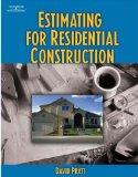 Portada de ESTIMATING FOR RESIDENTIAL CONSTRUCTION