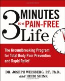 Portada de 3 MINUTES TO A PAIN-FREE LIFE: THE GROUNDBREAKING PROGRAM FOR TOTAL BODY PAIN PREVENTION AND RAPID RELIEF