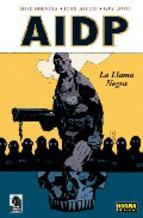 Portada de AIDP: LA LLAMA NEGRA