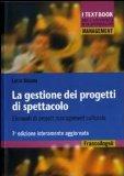 Portada de LA GESTIONE DEI PROGETTI DI SPETTACOLO. ELEMENTI DI PROJECT MANAGEMENT CULTURALE (MANAGEMENT. I TESTBOOKS UNIV. E PROFESS.)
