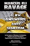 Portada de A JEW ANSWERS ANTI-SEMITISM BY MARCUS ELI RAVAGE (2012-08-27)