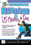 Portada de READING IN 15 MINUTES A DAY [WITH FREE ONLINE PRACTICE EXERCISES ACCESS CODE] (JUNIOR SKILL BUILDERS) BY LEARNING EXPRESS (31-JUL-2008) PAPERBACK